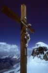 Kruzifix auf den Chli Matterhorn 3883m