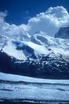 Castor & Pollux vom Gornergletscher auf der Monte Rosa-Hüttentour