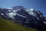 Jungfrau 4158 m mit Silberhörner 3695 m