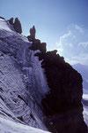 Motiv beim Abstieg vom Mittelhorn 3704 m