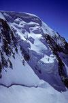 Hängegletscher in der Alphubel-Nordwand