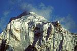 Gipfel Taboche 6542 m - Tele -  vom Gokyo Ri 5357 m