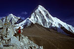 Kala Patthar 5545 m mit Pumori 7145 m