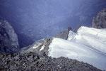 Blick vom Mittelhorn 3704 m auf Grindelwald