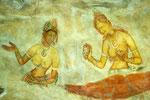 Sigiriya - Fresken der Wolkenmädchen
