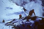 Ausstiegsgrat zum Gipfel