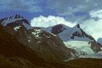 Rimpfischhorn 4199 m, Strahlhorn 4190 m und Adlerhorn 3987 m