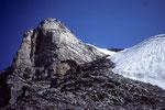 Wetterhorn  vom Wettersattel ca. 3500 m