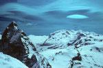 Matterhorn mit Monte Rosa 4634 m.