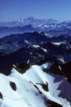 Blick zum Mont Blanc 4807 m  - Tele -