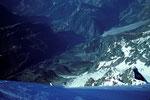 Tiefblick ins Val Ferret und ins Val Veni