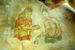 Sigiriya - Fresken der Wolkenmädchen  II