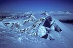 Blick zum Matterhorn  4478m