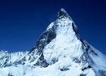 Matterhorn  vom Gornergrat  - im Sommer nach Schlechtwettereinbruch -