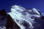 Barre des Écrins 4102 m, Pic Lory 4086 m und Dome de Neige 4015 m