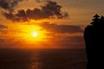 Sunset -Pura Luhu Ulu Watu Tempel -