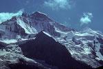 Jungfrau 4158 m mit Silberhörner
