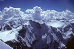 Aletschhorn 4195 m mit Gletscherhorn 3983 m