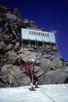 Konrad, mein sicherer Seilführer unter dem Mischabeljochbiwak auf 3861 m