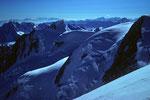 Mont Maudit  4465m und Hängegletscher