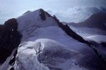Mittelhorn 3704 m vom Wetterhorngipfel 3701 m