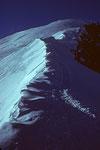 Bossesgrat und Mont Blanc - Gipfel
