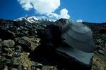 Basalt-Lava mit Ararat  5165 m