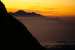 Gipfelblick zum Rinjani  3726 m auf Lombok
