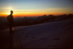 Berner Alpen vor Sonnenaufgang I