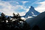 Matterhorn  von oberhalb von Täsch