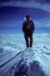 Auf dem Gipfel der Parrotspitze 4432 m