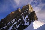Zinalrothorn 4221 m vom Firngrat.