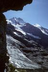 Jungfrau 4158 m mit Silberhorn 3695 m aus der Westwand