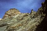 unterhalb der Solvayhütte 4003m