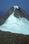 Wetterhorn 3701 m vom Mittelhorn 3704 m