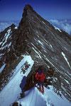 NW-Grat zum und mit Nadelhorn 4327 m