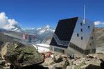 Neue SAC-Hütte Monte Rosa 2883 m