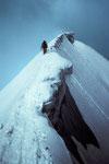 Firngrat zum  Gipfel