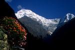 Annapurna South 7273 m und Hiunchuli 6441 m
