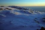 Eiskaskaden oberhalb Gilman´s Point  5681m