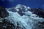 Mönch 4107 m mit Eigergletscher