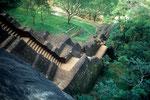 Sigiriya - Treppenaufgang