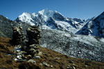 Steinmänner mit Ganchempo 6387 m