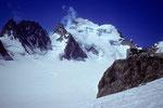 Abschiedsblick zur Barre des Écrins 4102 m