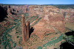 Spider Rock vom Spider Rock Overlook