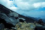 Basalt-Lava mit Kleinem Ararat 3896 m