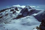 Monte Rosa und Liskamm 4527m
