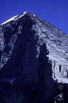 Eiger 3970 m Nordwand mit NW-Grat und Westwand