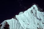 Gandarba Chuli  6248 m  mit Tele vom Grat-