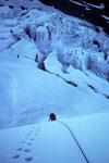 Auftakt über dem Gletscherbruch